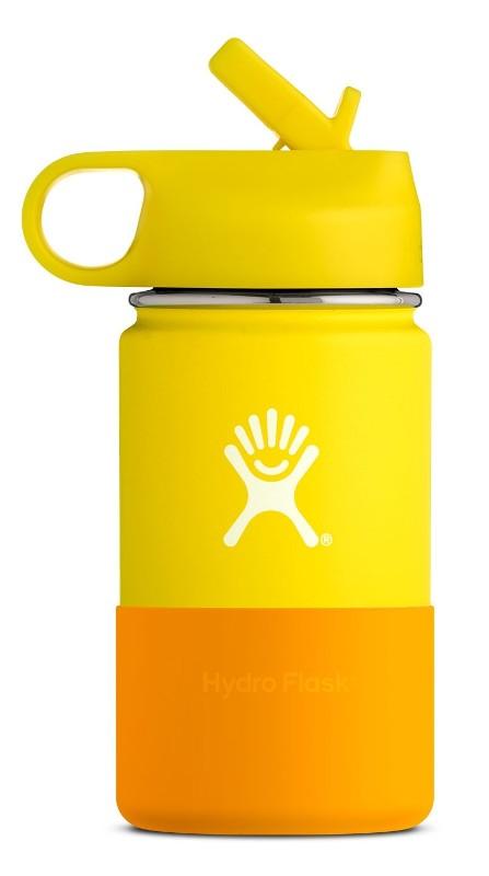 12oz Kids Flask Lemon