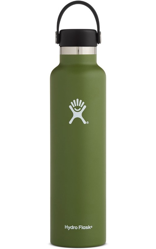 24oz Standard Mouth Flex Cap Olive