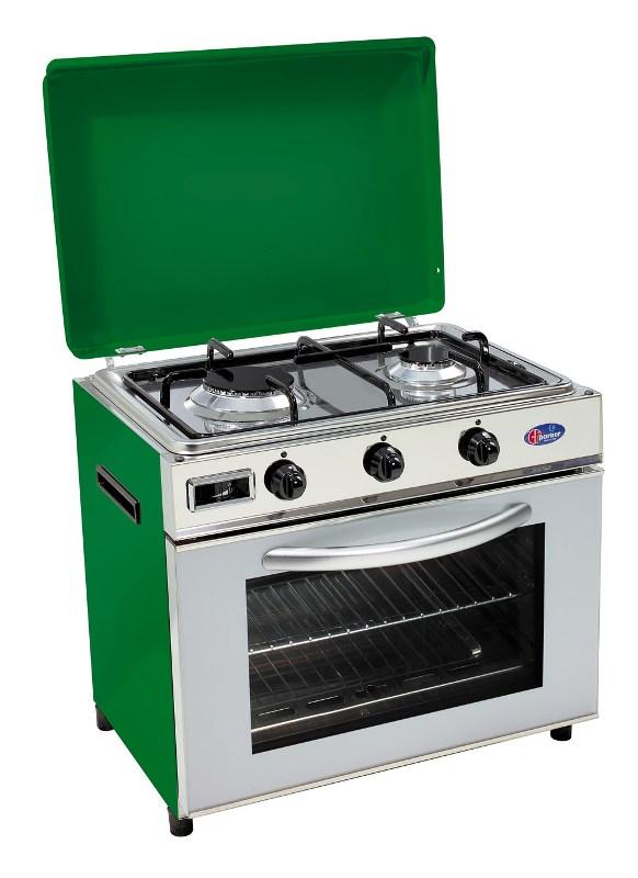 Parker fo600 verde valvolato pesci camping store for Mobili cucine a gas