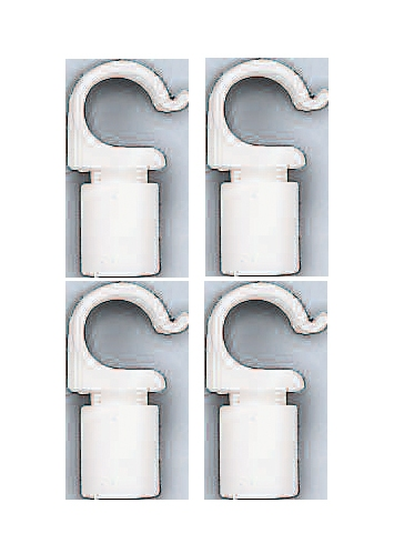 Clips for Poles 19 mm 4 pcs.