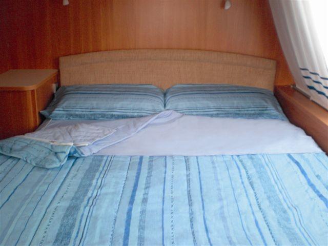 Caravan blu rigato 130 140 pesci camping store vendita on line - Pronto letto camper ...