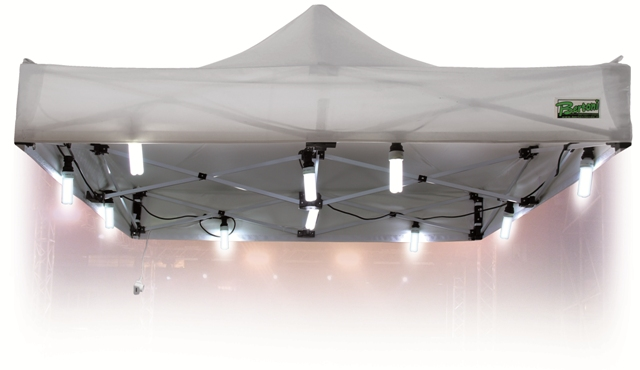 Illuminazione per gazebi: luce per gazebo. lampade per gazebo in