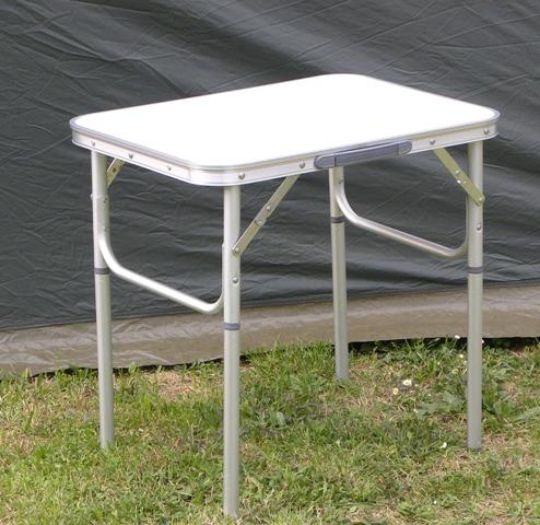 Ki tavolo alluminio 45x60 pieghevole vendita on line - Tavolo pieghevole con maniglia ...