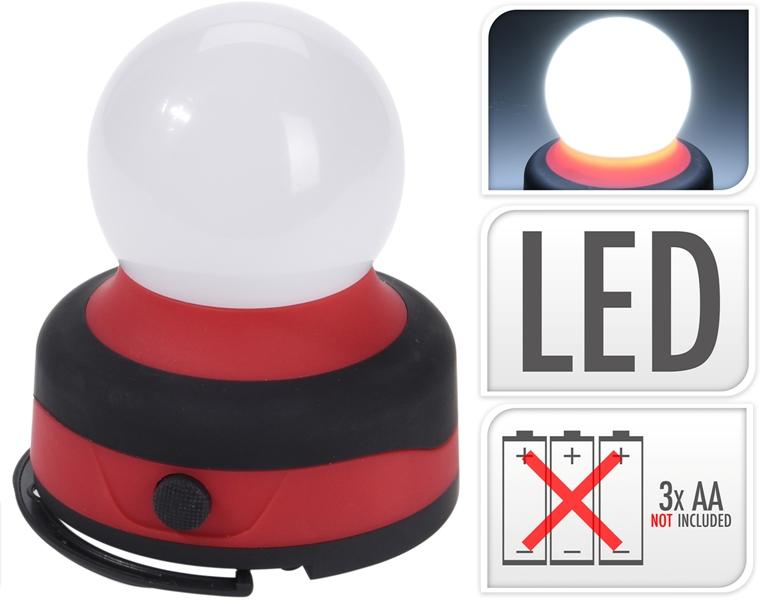 Lampada Led Campeggio 8x9