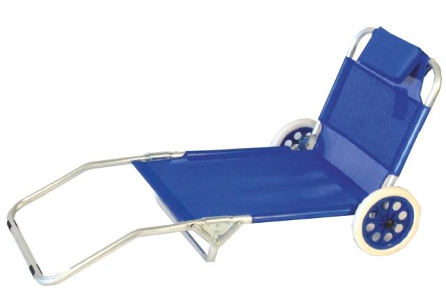 M&s spiaggina alluminio con ruote pesci camping store vendita