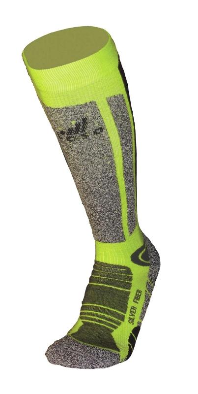 Ski Wool Socks Lime
