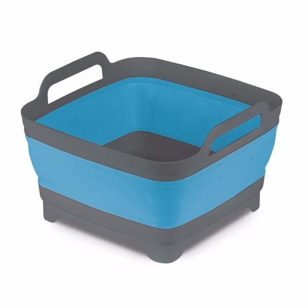 Collapsibile Washing Bowl with Strining Plug