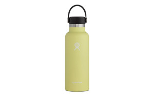 Hydro Flask - 18oz Standard Mouth Flax Cap Pineapple