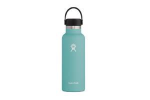 Hydro Flask - 18oz Standard Mouth Flax Cap Rain
