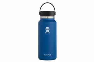 Hydro Flask - 32oz Wide Mouth Flex Cap Cobalt