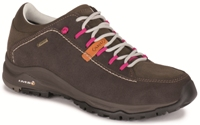 Aku - Nemes Suede Ws Low Gt Brown Magenta