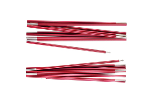 Ferrino - X2 Alu Poles 8,5mm Red