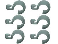 Beaver brand - Clips Plastic Open buttonhole 6 pcs.