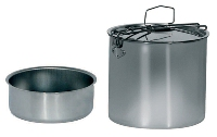 Beaver brand - Portavivande Inox 12 cm with lunch-box