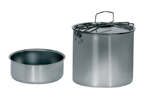 Beaver brand - Portavivande Inox 14 cm with lunch-box