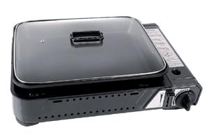 Reimo - Burny Pan Cooker with Pot