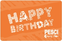 Pesci - Customizable Birthday Gift Card Amount