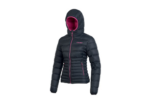 Camp - Cloud Jacket Lady Nero Fucsia