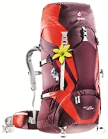 Deuter - ACT Lite 45+10 SL Aubergine Fire