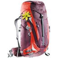 Deuter - ACT Trail 38 SL Pro Aubergine Fire