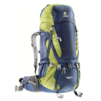 Deuter - Aircontact 55+10 Midnight Moss