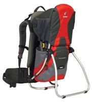 Deuter - Kid Comfort I Fire Anthracite