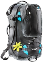 Deuter - Traveler 60 + 10 SL Black Turquoise