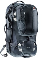 Deuter - Traveller 70+10 Black Silver