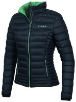 Camp - ED Motion Jacket Light Lady Nero-Verde