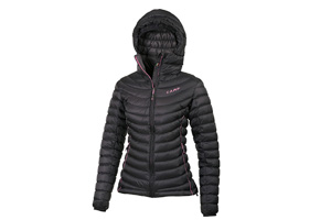 Camp - Ed Protection Jkt Lady Nero G.Antracite