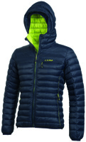 Camp - ED Protection Jacket BlueN-LimeP
