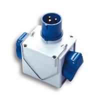 Pesci - Ad.Sp.2P + T16A EEC 2 socket 2P + T16A EEC