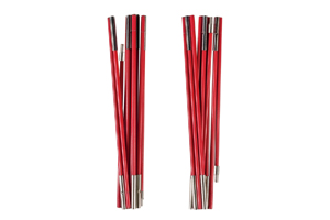 Ferrino - X2 Fiberglass Poles 7,9mm Red