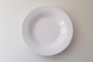 Pesci - Piatto Fondo Mel Pesante Bianco 23 cm