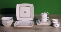 Gimex - Compass Quadrato 20 pz Dinner Set