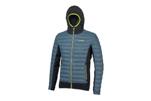 Camp - Hybrid Jacket Blu Pastello Nero