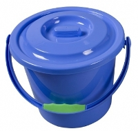Kampa - Plastic Bucket With Lid