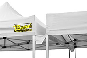 Bertoni - Gazebo 3m 30x30 Pyramid Gutter Kit