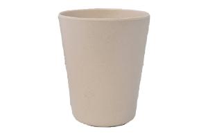 Ki - Bicchiere Bamboo 8x10 Bianco