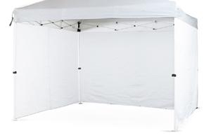 Con.ver - Laterale Stand 3 mt Bianco