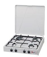 Parker - 542 4 burner cooker White