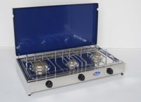 Parker - 5523 Cooker 3 Fires Blue Steel