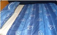 Eliotex - Pratik Prontoletto 190x70 cm Orange/Blu