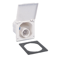 Reimo - CEE White External Socket