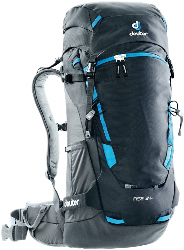 Deuter - Rise 34+ Black Graphite