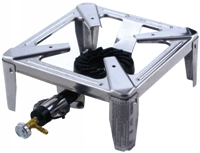 Rodeschini - Fornellone 30x30 Stainless Minidrag