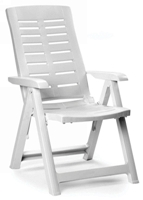 Rodeschini - Yuma Armchair White 5 Positions