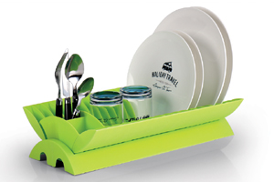Reimo - Lime reclosable dish drainer