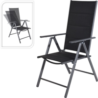 Ki - Reclining Aluminum Chair