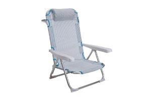 Ki - Sedia Spiaggia Alluminio Blu